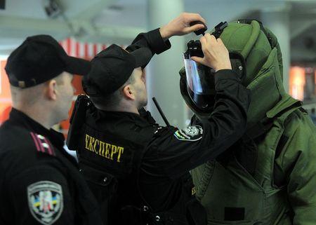 Учения на Донбасс Арене
