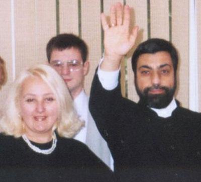 Елена Калантарова с учителем - знаменитым астрологом Павлом Глобой.
