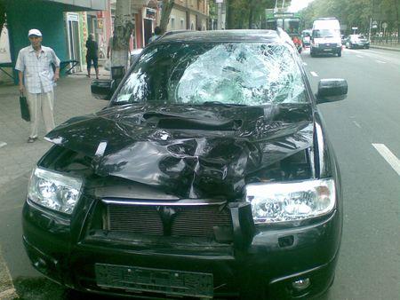 В Донецке сбили пешеходов