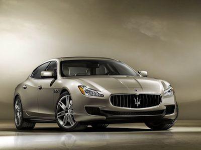 Новый седан от Maserati