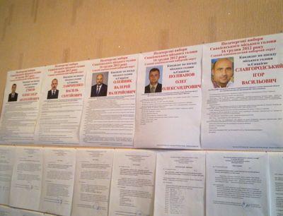 кандидаты в мэры Енакиево