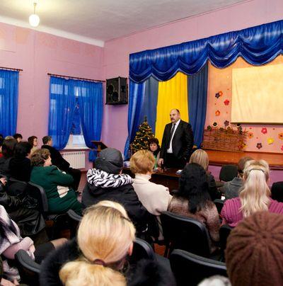 Валерий Олейник - встреча с избирателями