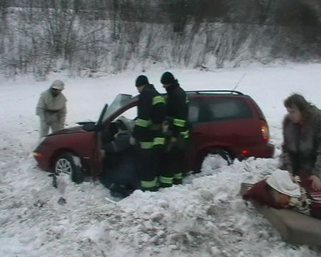 Снег в Черкасской области
