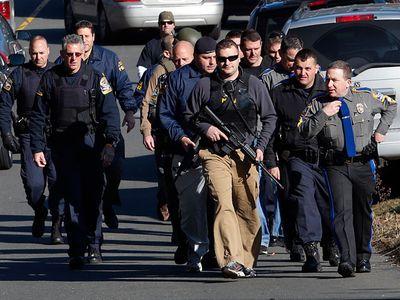 Стрельба в американской школе
