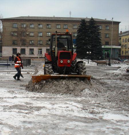 Черный снег в Енакиево