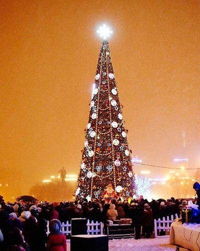 Главная елка Харькова