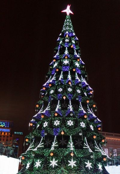 Главная елка Киева