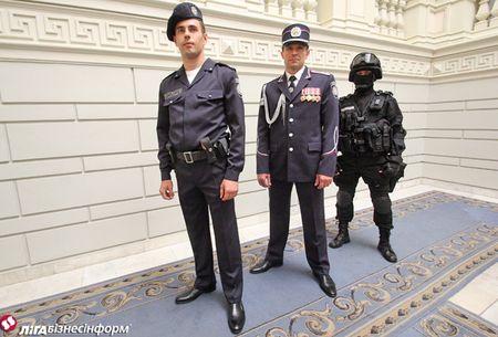 Новая форма украинской милиции