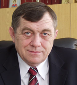 Мэр Доброполья Виктор Дерипаска