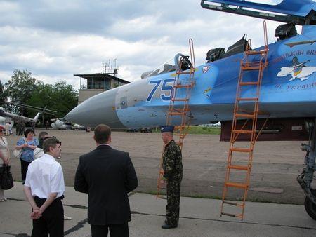 Авиабаза в Краматорске