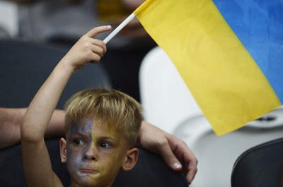 Украина-Франция. Никто не воспринимает поражения острее, чем дети. Которые так надеялись, что в конце случится чудо...