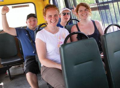 После двух поездок в донецких такси Джейн Полинари оценила всю прелесть общественного транспорта.