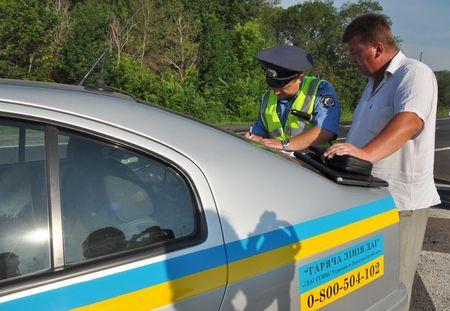ГАИ проверяет водителей