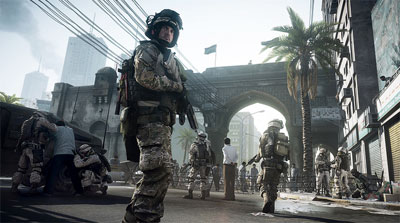 Скриншот из игры Battlefield 3