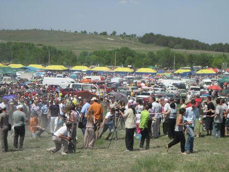 Инцидент на скачках в Крыму