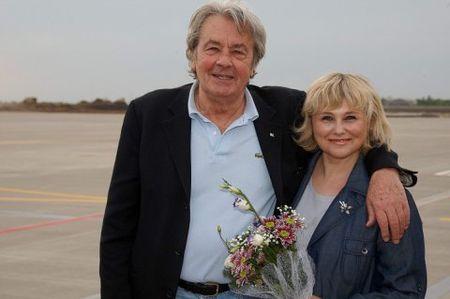 В Харьков прибыли Ален Делон и Милен Демонж