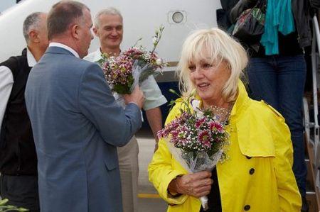 В Харьков прибыли Ален Делон и Милен Демонжо