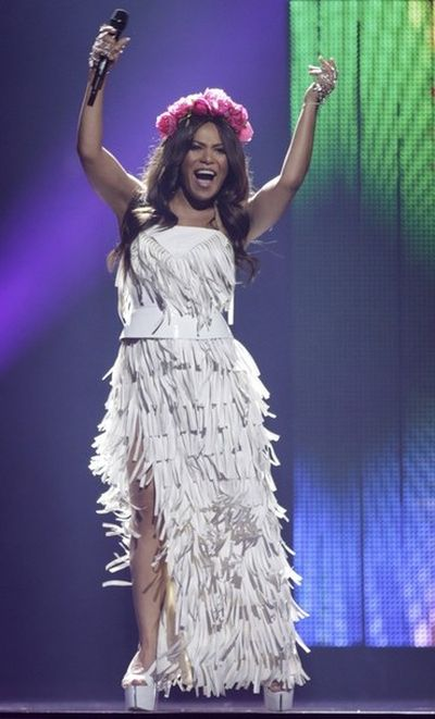 Гайтана на конкурсе Евровидение-2012