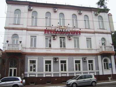 Так выглядит сегодня гостиница Великобритания, где в 1916 году жил писатель Константин Паустовский.