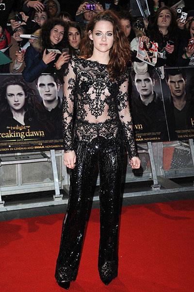 Кристен Стюарт на премьере в Лондоне