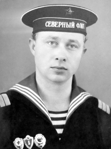 Подводник Эдуард Сополонов.