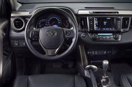 экстерьер и интерьер новой Toyota RAV4