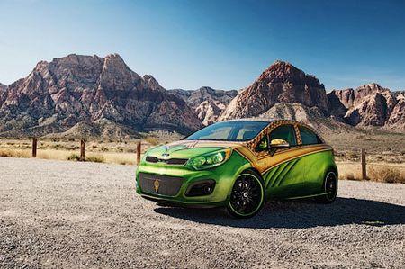 Kia сделала авто для супергероев фото