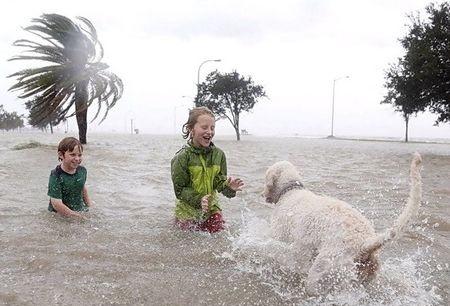 Ураган  Исаак в США