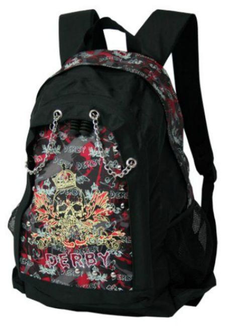 Рюкзак марки Derby в стиле «метал-рок»