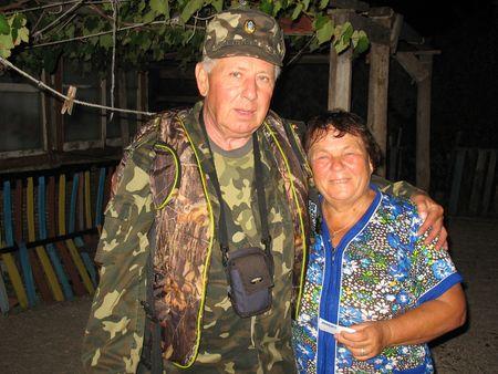 Маячная смотрительница Ольга Полищук  и корреспондент «Донбасса».