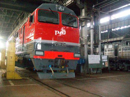 Знаменитый «Лугансктепловоз» сейчас работает исключительно  на «Российские железные дороги».