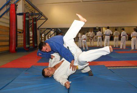 Занятия дзюдо помогут победить свои страхи, окрепнуть морально  и физически, - считают дончанин Алексей Горб и авдеевец Сергей Мурыгин.