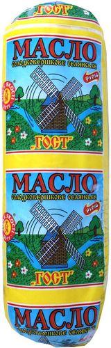  ДП «Ружин-молоко» указывает на этикетке масла «Румо ГОСТ», но фактически ГОСТА  не соблюдает, оно содержит растительный жир.
