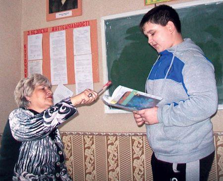Раиса Безуглова с любимым учеником  Никитой Бантиковым.