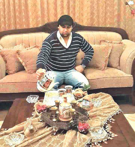 После сытного ужина Муса приготовил чай с марамией.