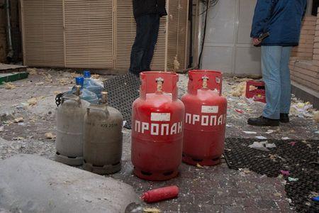 Взрыв ресторана в Киеве
