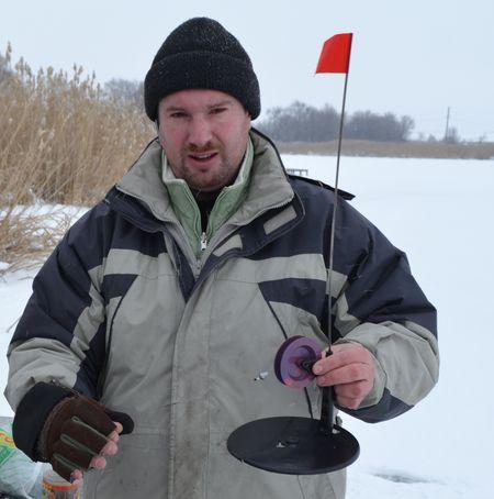 Рыболов-любитель Александр Козлов:  «Я использую такие жерлицы».