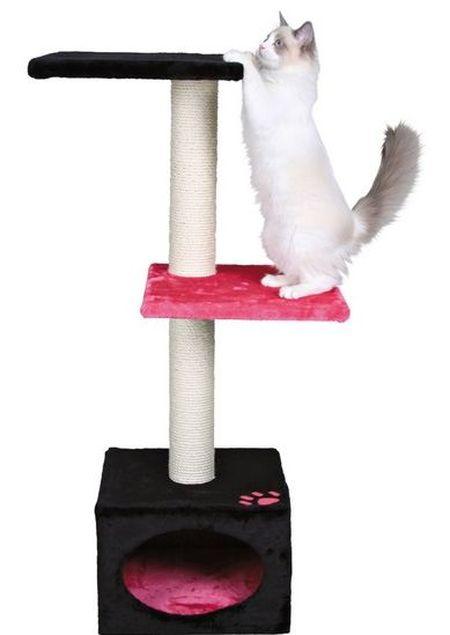 Кошачьи домики-когтеточки.