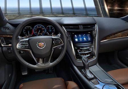 Новый CTS стал первым Cadillac с 8-ступенчатым автоматом