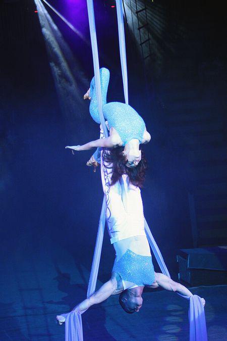 Воздушная гимнастка Ольга Легенда розыгрыши воспринимает с улыбкой.  Но только если они наземные.