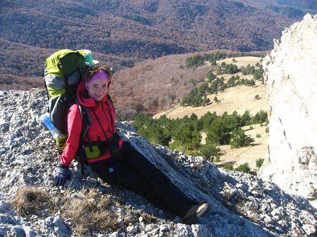 Для Юлии Губиной рюкзак за плечами  и палатка вместо дома - привычное дело.  К этому она призывает и читателей «Донбасса»!