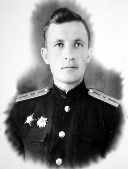 Капитан-лейтенант  Николай Гоппе.  Февраль 1945 года.