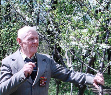 Анатолий Медведев - самый молодой фронтовик Енакиева.