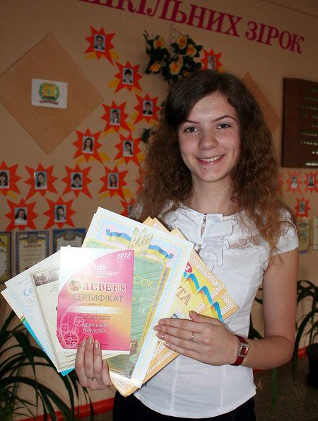 Выпускница 3-й школы София Волкова станет юристом.