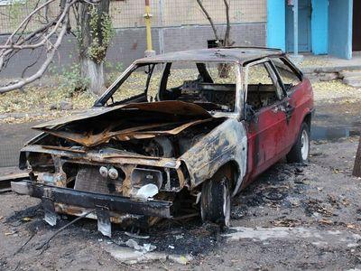 горел автомобиль