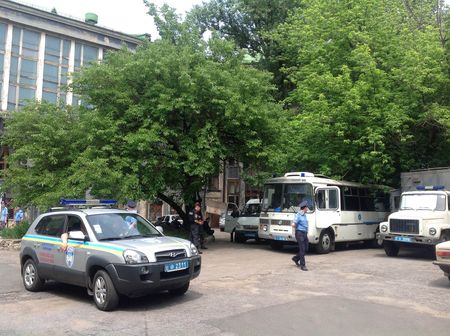 Донецкая милиция готова к митингу оппозиции