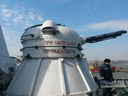 Пограничники заверили: для охраны границ Азова вооружения хватит.