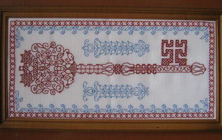 Узор в виде ключа, по мнению Ларисы Комиссаровой, - очень важный символ в народной традиции.