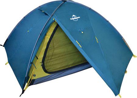 Палатку полусфера может установить и один человек…