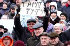 Донбассовцев взбудоражили многотысячные митинги